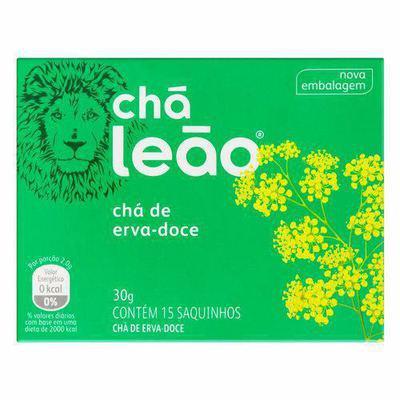 CHA LEAO FUZE ERVA DOCE 30G C/15