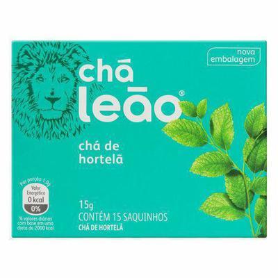 CHA LEAO HORTELA 15G C/15