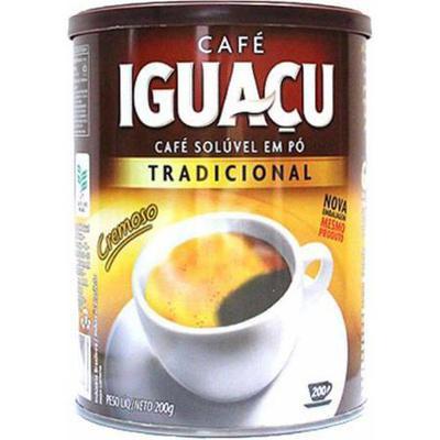CAFE IGUACU SOLUV.TRAD.200G LA
