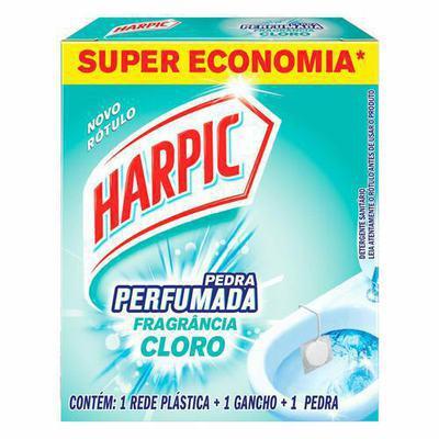 Pedra Sanitária Aroma Plus Harpic