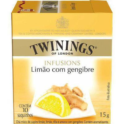 CHA TWININGS LIMAO/GENGIBRE 15G C/10