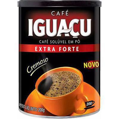 CAFE IGUACU SOLUV.E FORTE 200G LA