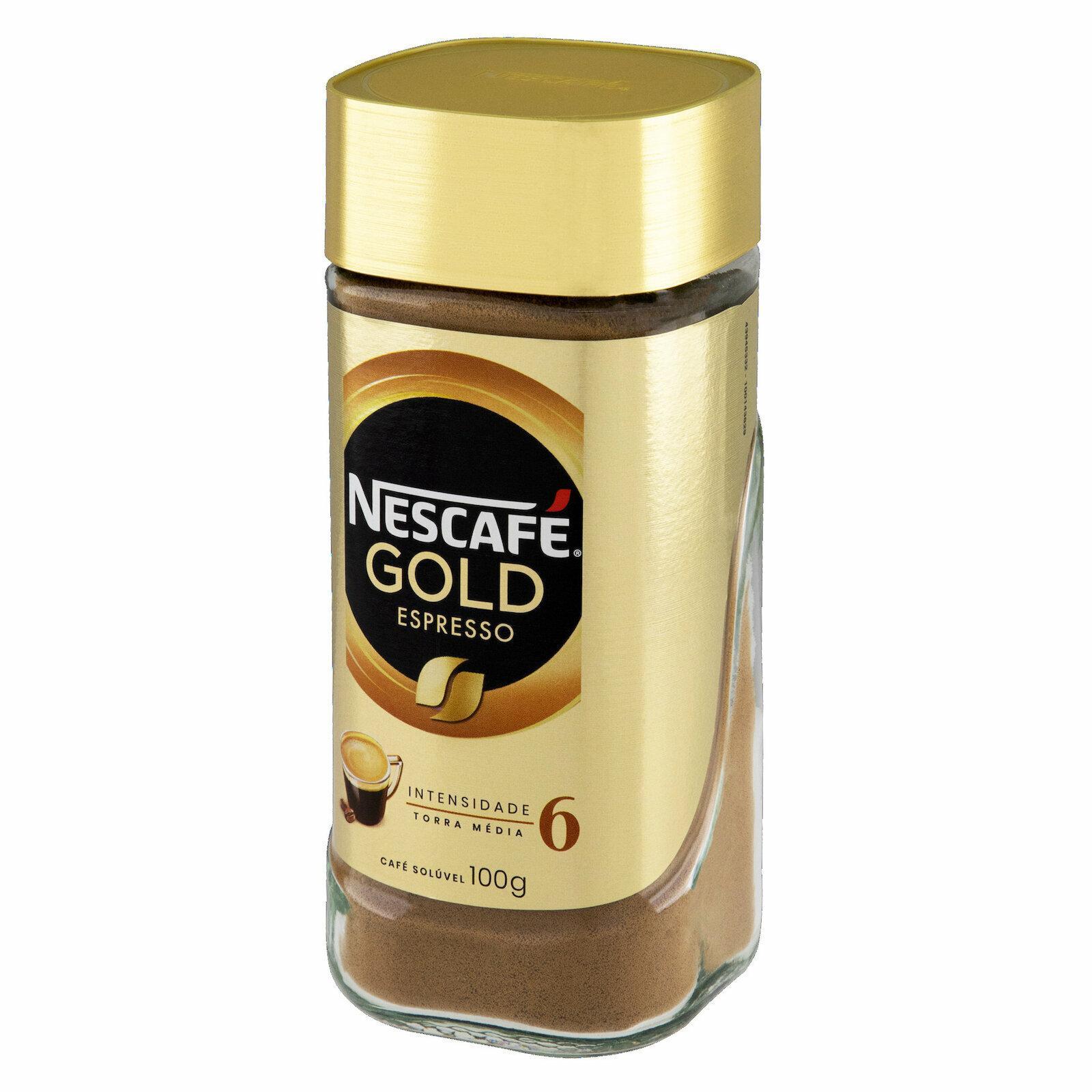 CAFE NESCAFE GOLD ESPRESSO 100G VD