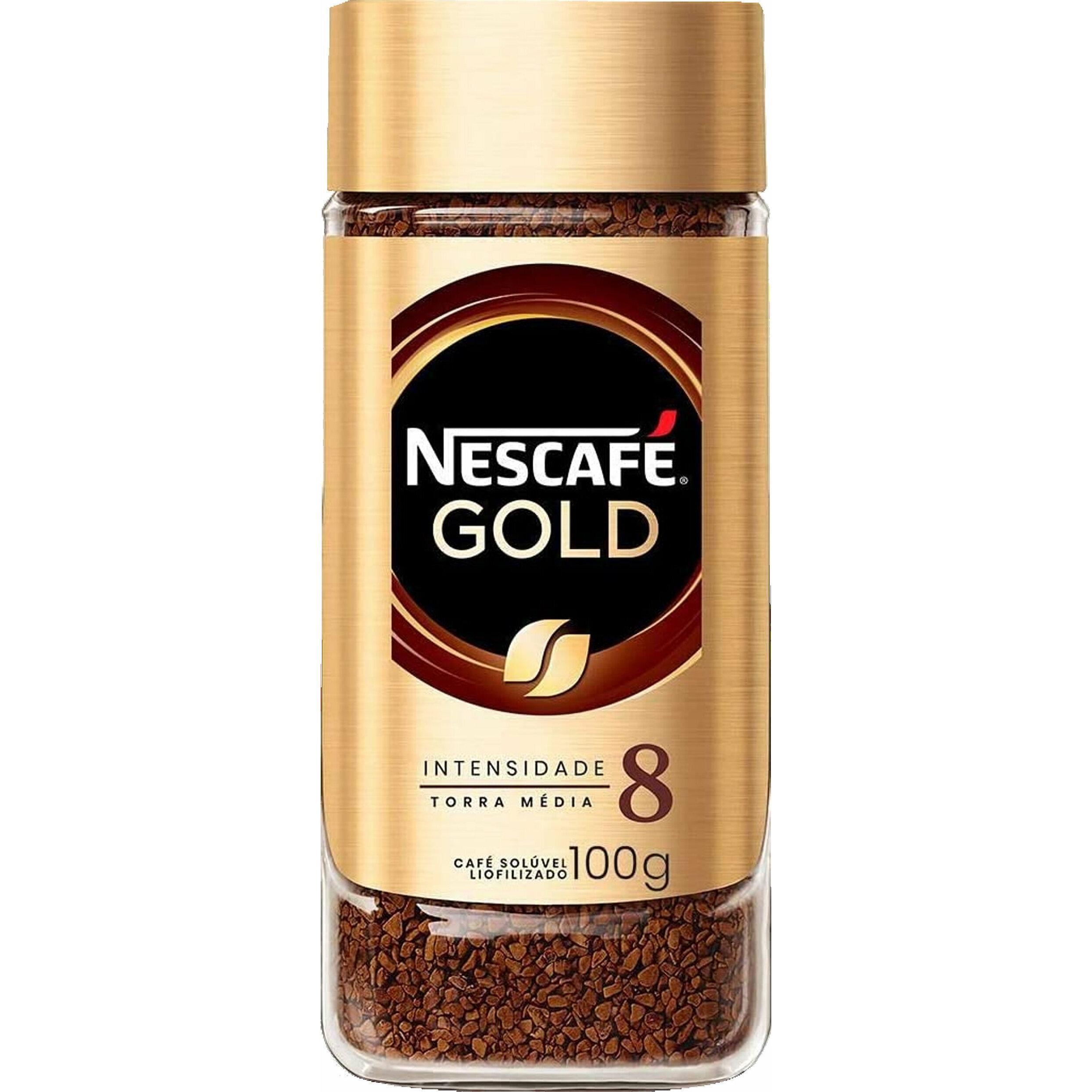 CAFE NESCAFE GOLD BLEND 8 100G VD
