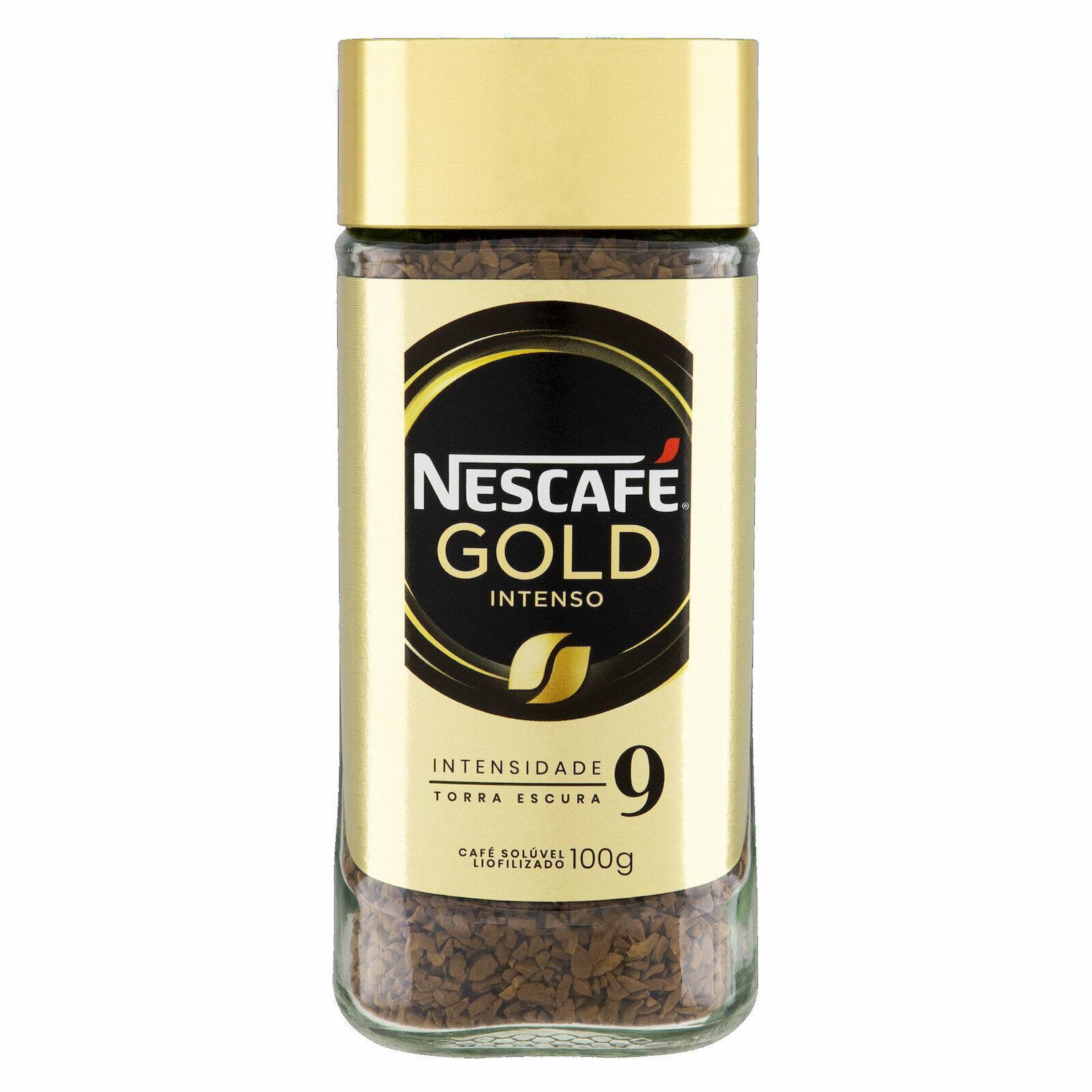 CAFE NESCAFE GOLD INTENSO 9 100G VD