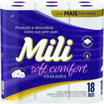 Papel Higiênico Mili Soft Comfort