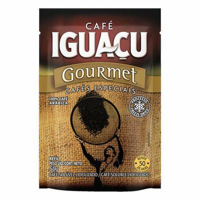 CAFE IGUACU SOLUV.GOURMET 50G SACHE